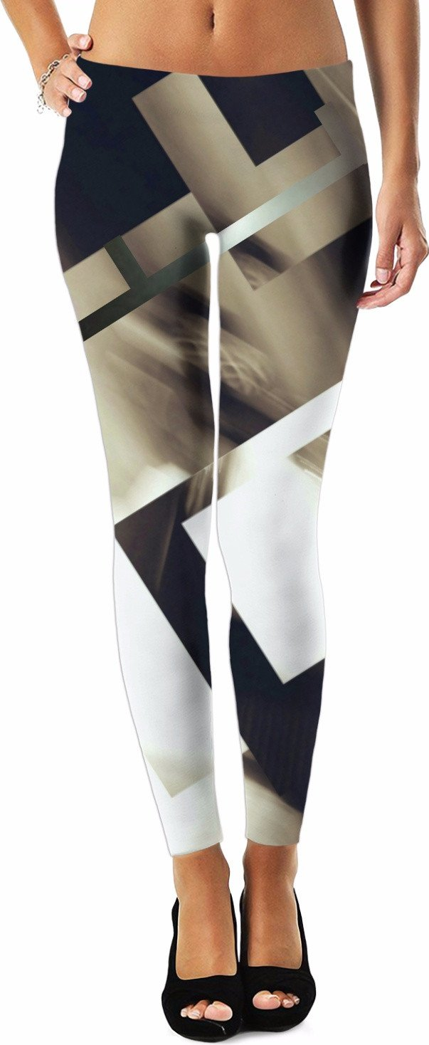 Abstract Angles Leggings/Plus Sizes Available/XS - 5XL