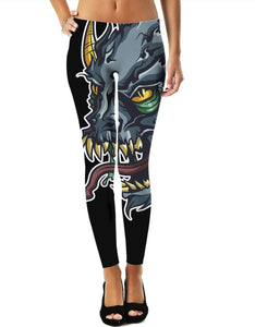 Demon Skull Leggings