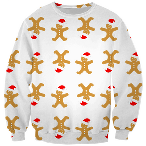 Gingerbread Men Kids Sweatshirt
