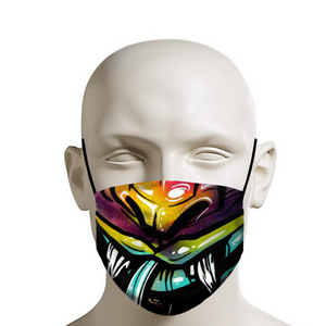 Monster mouth Graff face mask covid 19