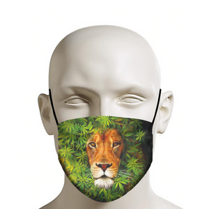 Bud Lion Face Mask
