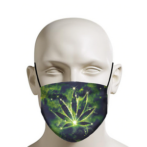 Weed Constellation Face Mask