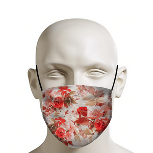 Spring Roses Face Mask
