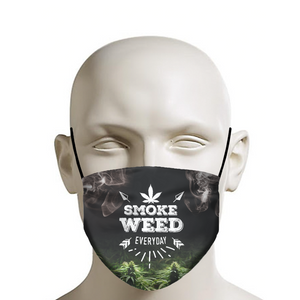 Smoke Weed Everyday Face Mask