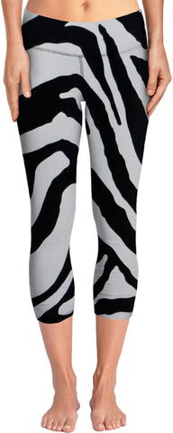 Zebra Stripes Yoga Pants