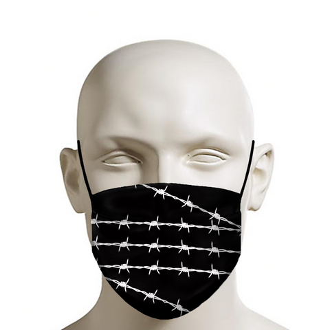 Barbed Wire Face Mask