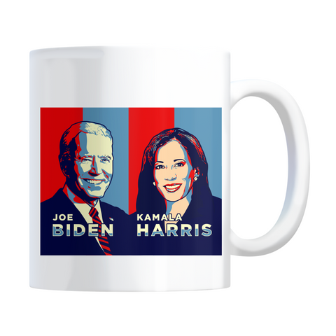 Joe Biden and Kamala Harris Coffee Mug