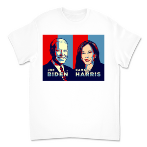 Joe Biden and Kamala Harris Unisex Tee