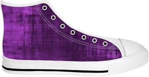 Purple High Top Shoes