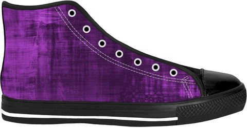 Purple Night Too Black Sole Shoes