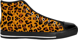 Leopard Print High Top Shoes