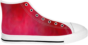Pinky Red High Tops