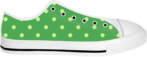 Green Polka Dot Shoes