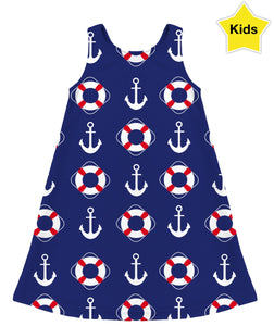 Sailor Girl Kids Dress