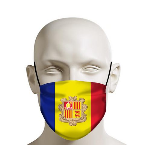 Andorra Adult Face Mask