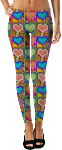 Hearts Leggings