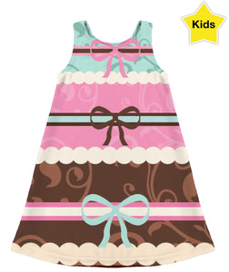 Layered Cake Kids Dress