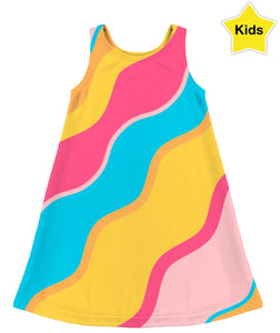 Waves Kids Dress