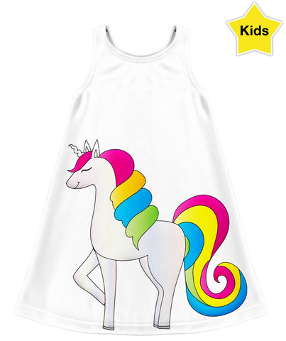 Rainbow Kids Dress
