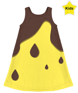 Chocolate Banana Kids Dress