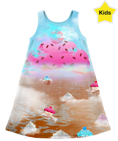 Cupcake Mountain Kids Dress