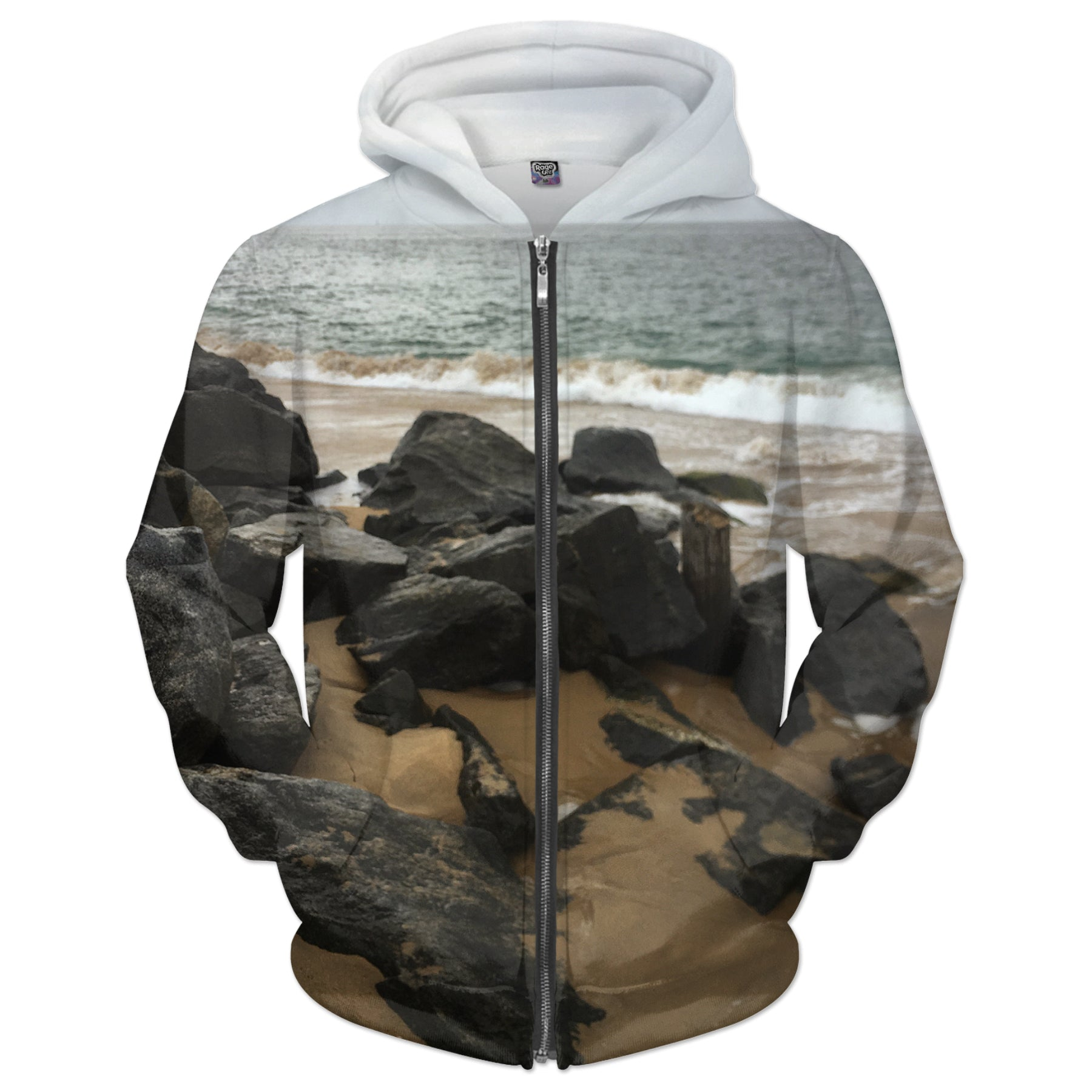 Beach Photo Hoodie