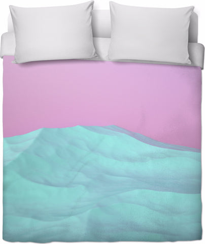 Cool Mountains Duvet Cover