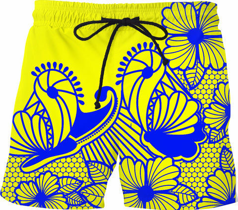 Butterfly Swim Trunks