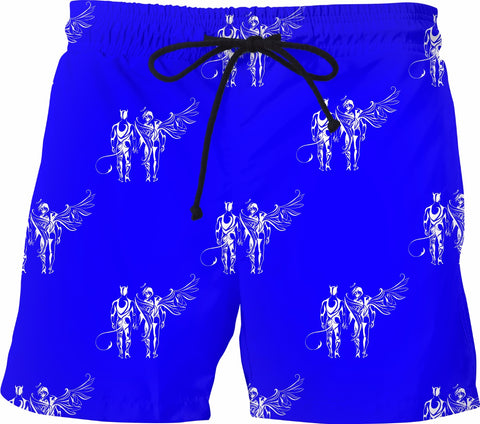 Angels and Demons Swim Trunks