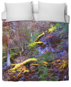 Magic Mountain Duvet Cover