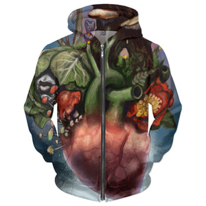 Heart Of Nature Hoodie