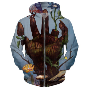 The Hand Of Nature Hoodie