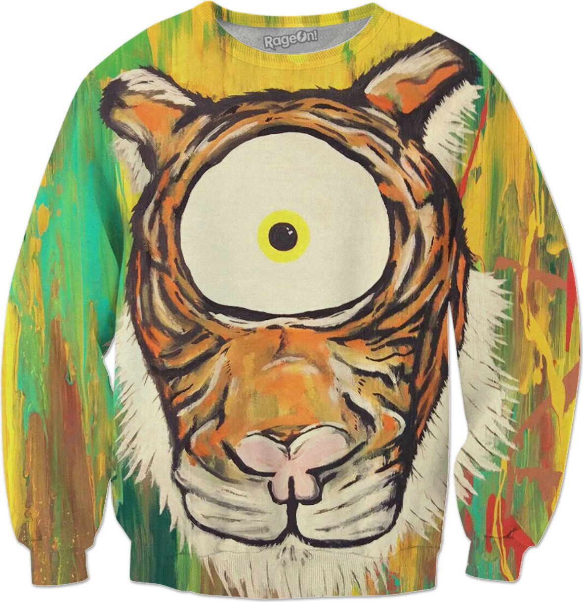 Spirit Animal Sight: Tiger Sweatshirt