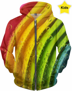 Rainbows and Water Kid's Hoodie
