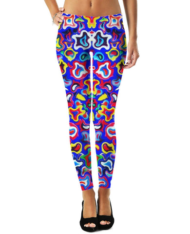 Fractal Fruit Leggings