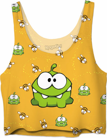 OmNom & Bees Crop Top