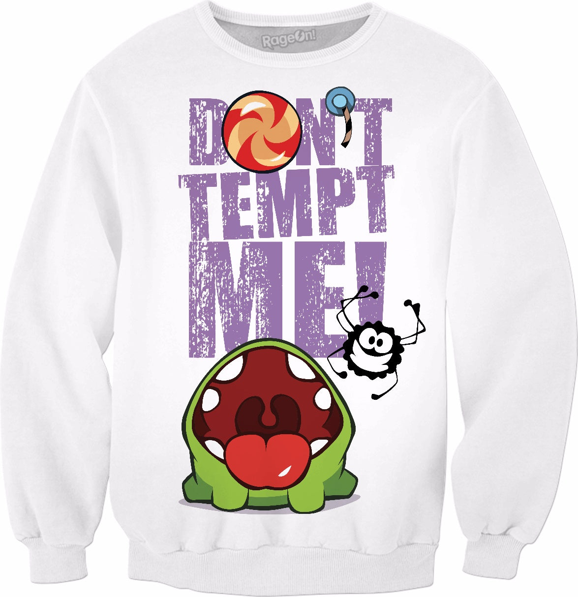 Don't Tempt Me Crewneck Sweatshirt