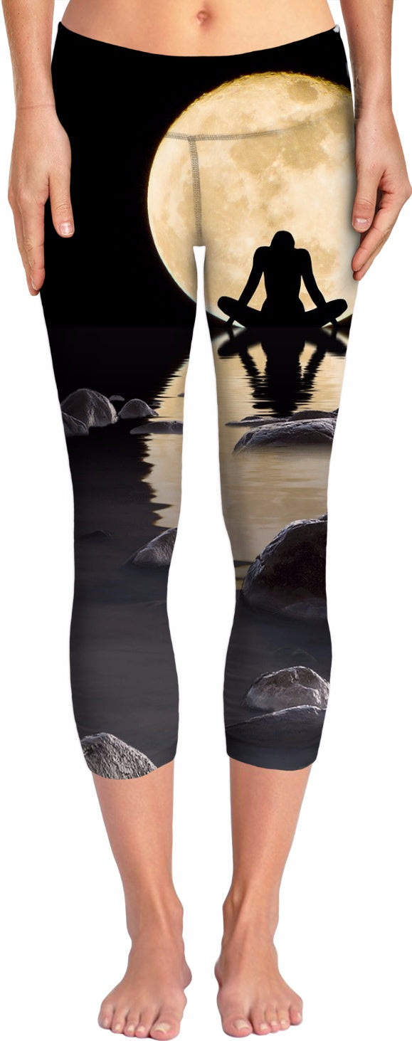 Midnight Peace Yoga Pants
