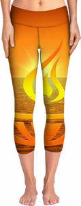 Peace and Tranquility Yoga Pants