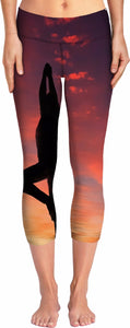 ROYP Sunset Silhouette Yoga Pants