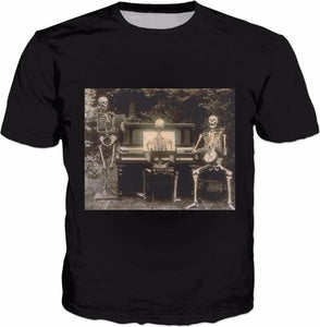 Piano Until I Die Adult T-Shirt