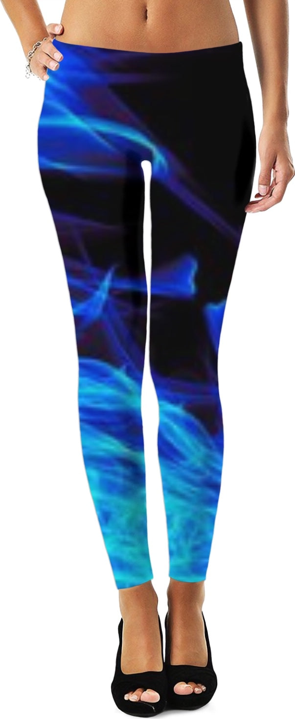 Blue Flame Women Leggings