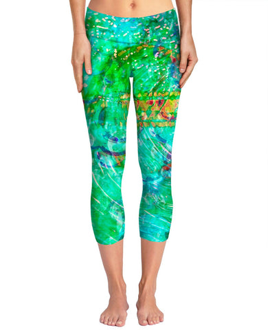 Green Love Potion 7 Yoga Pants #1