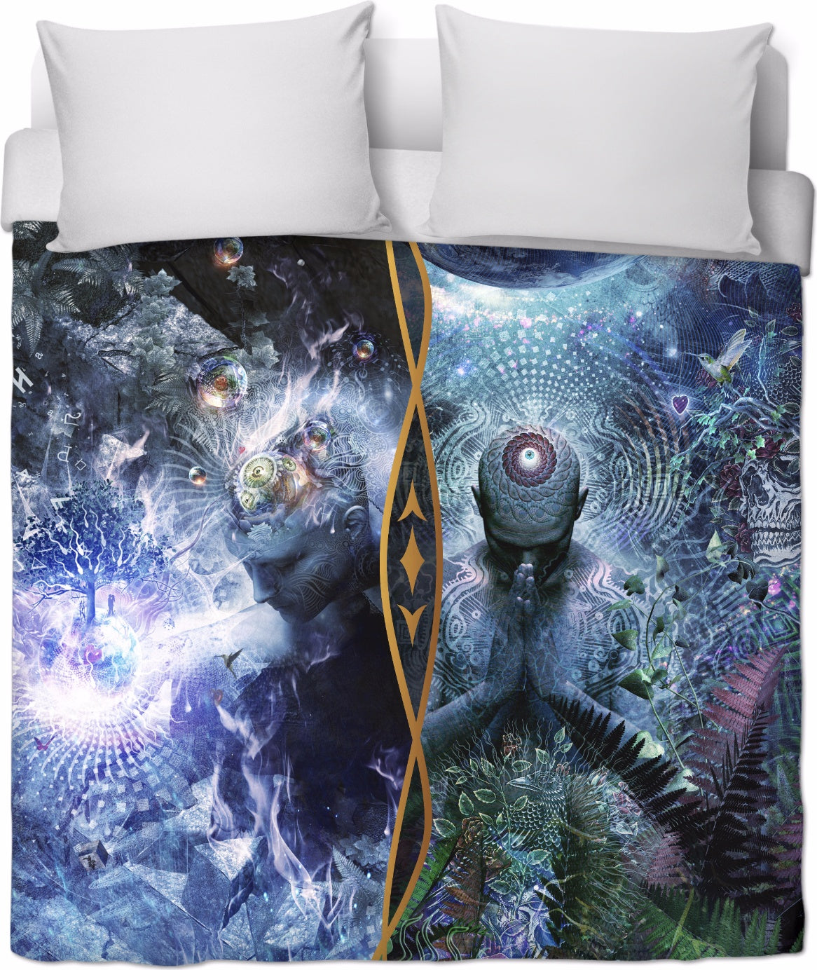 Special Edition 2 in 1 Gratitude Vibes - Duvet Cover