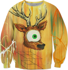 Spirit Animal Sight: Deer Sweatshirt