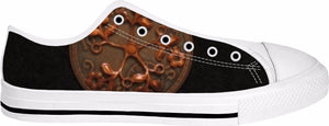 Brown Black Steampunk Adult Shoes
