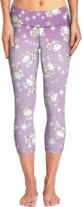 Hello Kitty 90's Rainbow Fairy Yoga Pants