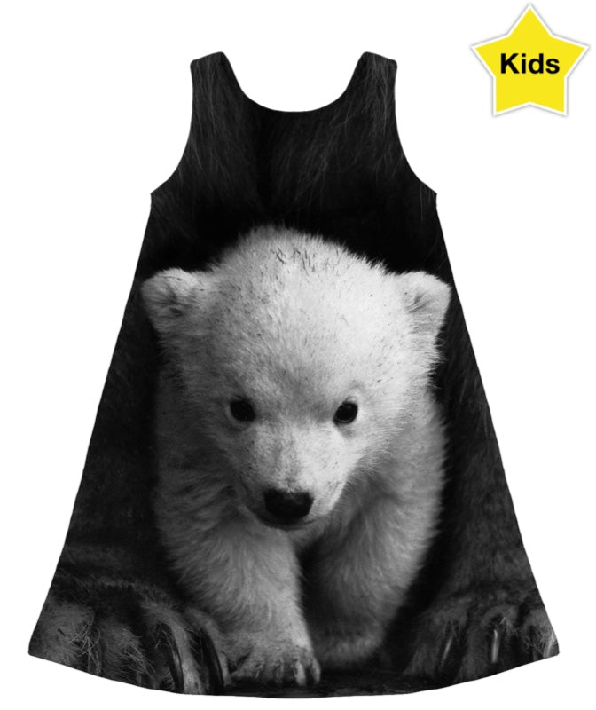Baby Polar Bear Girls Dress