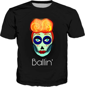 Black Ballin' Sugar T-Shirt