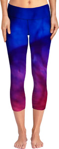 Blue Pink Purple Yoga Pants